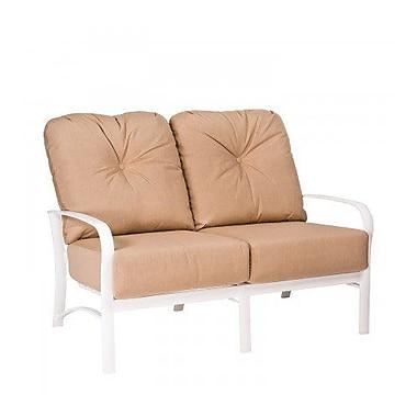 Woodard Fremont Loveseat w/ Cushions; Summit Peony