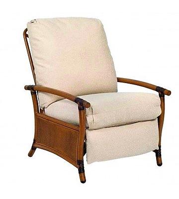 Woodard Glade Isle Patio Chair w/ Cushions; Bazaar Caf