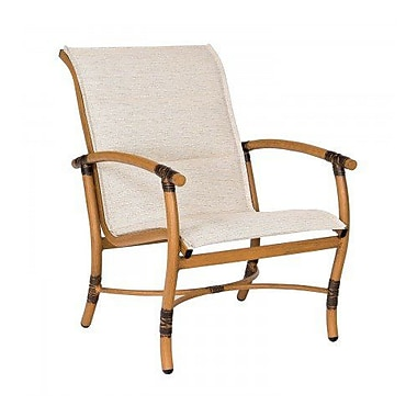 Woodard Glade Isle Padded Sling Patio Chair; Elegance