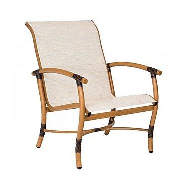 Woodard Glade Isle Sling Patio Chair; Charcoal Flex Sling