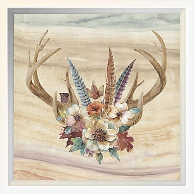 East Urban Home 'Spiced Nature VIII' Framed Graphic Art Print; 10'' H x 10'' W