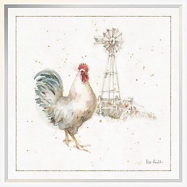 East Urban Home 'Farm Friends XI' Framed Print; 18'' H x 18'' W