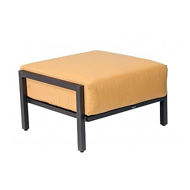 Woodard Salona Ottoman w/ Cushion; Summit Spark