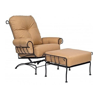 Woodard Terrace Ottoman w/ Cushion; Summit Spark