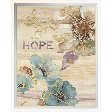 East Urban Home 'Spiced Nature VI Marble' Framed Graphic Art Print; 14'' H x 11'' W
