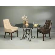 Impacterra Firouzeh Linen Khaki Fabric Arm Chair