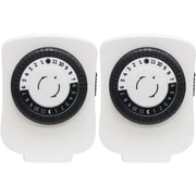 GE Polarized Plug-in Mechanical Timer Wall Mounted Outlet