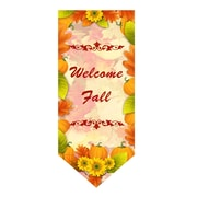Jeco Inc. Welcome Fall Harvest Garden Flag w/ Stake