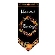 Jeco Inc. Harvest Bleddings Garden Flag w/ Stake
