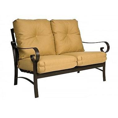 Woodard Belden Loveseat w/ Cushions; Fairmount