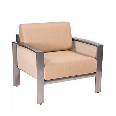 Woodard Metropolis Patio Chair w/ Cushions; Paris Honeydew