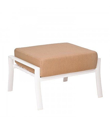 Woodard Fremont Cushion Ottoman w/ Cushion; Fairmount