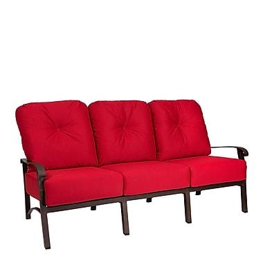 Woodard Cortland Sofa w/ Cushions; Canvas Heather Beige