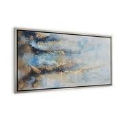 Everly Quinn 'Tidal Flow' Framed Painting