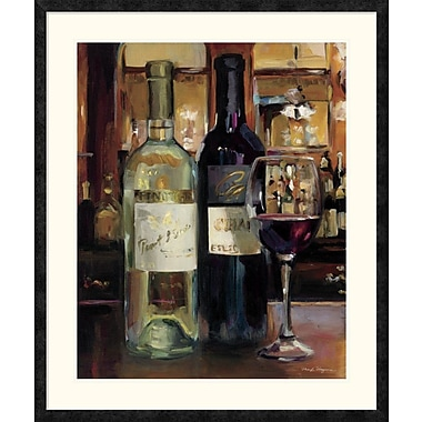 East Urban Home 'A Reflection of Wine II' Framed Print; 35'' H x 28'' W