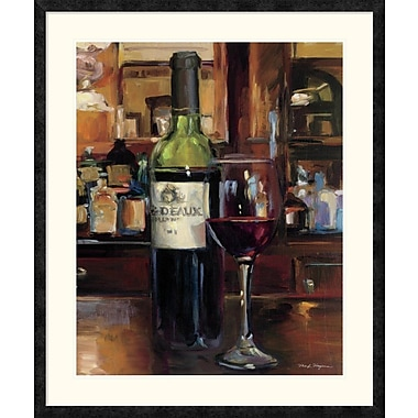 East Urban Home 'A Reflection of Wine III' Framed Print; 35'' H x 28'' W