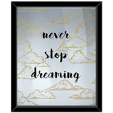 Ivy Bronx 'Dreaming 1' Framed Textual Art on Canvas