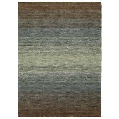 Darby Home Co Corbyn Hand Tufted Wool Brown Area Rug; 5' x 7'6''