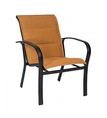 Woodard Fremont Padded Sling Patio Dining Chair; Augustine Frost