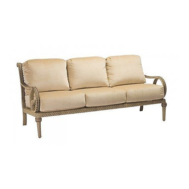 Woodard South Shore Sofa w/ Cushions; Canvas Dusk
