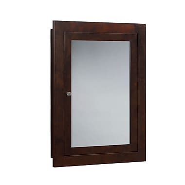 Ronbow Neo-Classic 24.44'' x 32.44'' Recessed or Surface Mount Medicine Cabinet