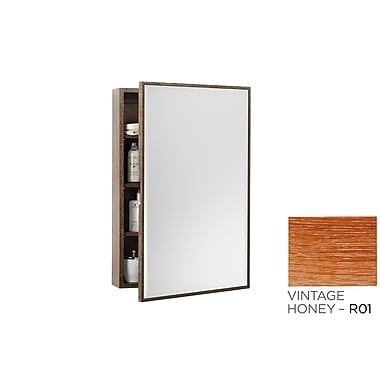 Ronbow Transitional 23'' x 21.69'' Surface Mount Medicine Cabinet