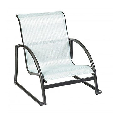 Woodard Tribeca Stacking Patio Dining Chair; Augustine Frost