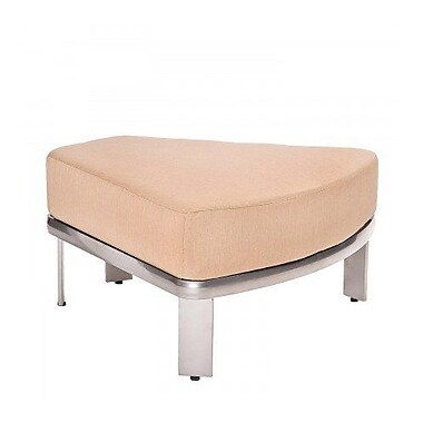 Woodard Metropolis Sectional Wedge Ottoman w/ Cushion; Summit Spark