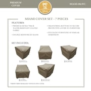 TK Classics Miami 8 Piece Chair Cover Set