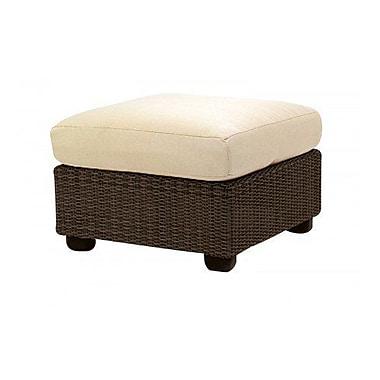 Woodard Montecito Ottoman w/ Cushion; Paris Blush