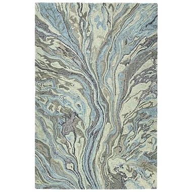 Mercer41 Katarina Hand Tufted Wool Pewter Green Area Rug; 9'6'' x 13'