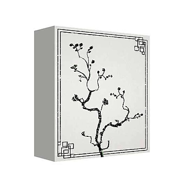 Bloomsbury Market 'Blossom' Graphic Art Print on Canvas in Black/White