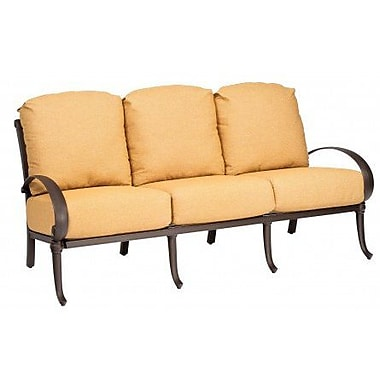 Woodard Holland Sofa w/ Cushions; Fairmount