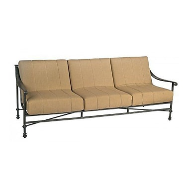 Woodard Nova Sofa w/ Cushions; Axel Smoke