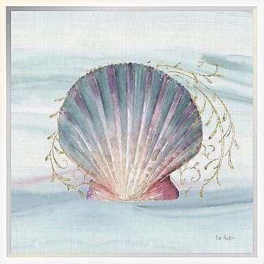 East Urban Home 'Ocean Dream VI' Framed Print; 18'' H x 18'' W