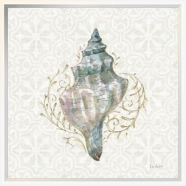 East Urban Home 'Ocean Dream IV' Framed Graphic Art Print; 18'' H x 18'' W