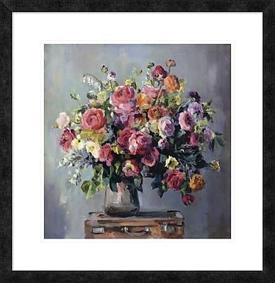 East Urban Home 'Abundant Bouquet' Framed Print; 18'' H x 18'' W