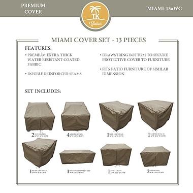 TK Classics Miami 13 Piece Chair Cover Set