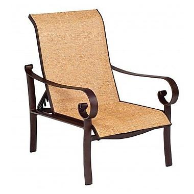 Woodard Belden Sling Adjustable Patio Chair; Jet