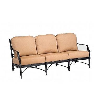 Woodard Isla Sofa w/ Cushions; Summit Spark