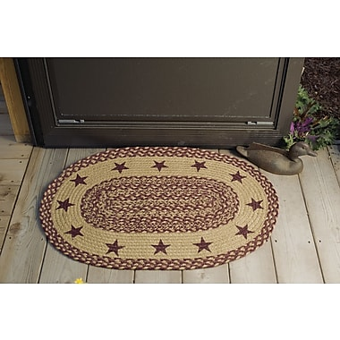 August Grove Chifdale Stencil Stars Indoor/Outdoor Area Rug