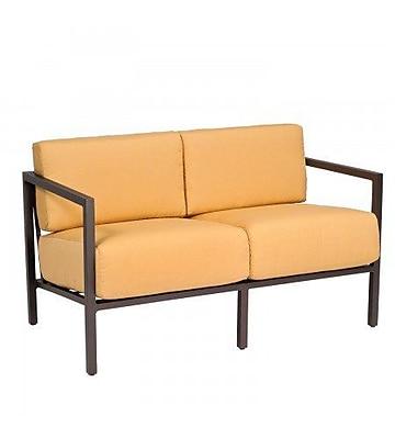 Woodard Salona Loveseat w/ Cushions; Axel Smoke