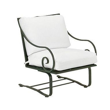 Woodard Sheffield Spring Patio Chair w/ Cushions; Fairmount