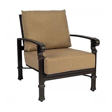 Woodard Spartan Patio Chair w/ Cushions; Canvas Dusk