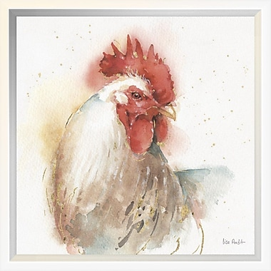 East Urban Home 'Farm Friends V' Framed Print; 12'' H x 12'' W