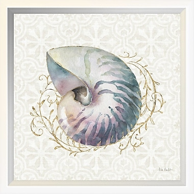 East Urban Home 'Ocean Dream I' Framed Graphic Art Print; 10'' H x 10'' W