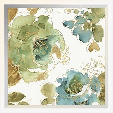East Urban Home 'My Greenhouse Roses II' Framed Print; 10'' H x 10'' W