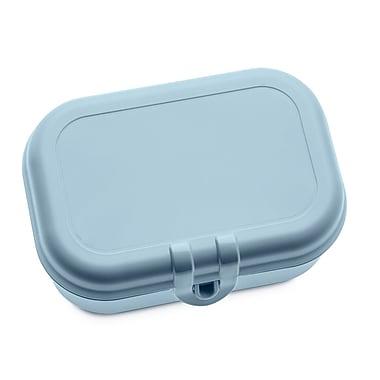 Rebrilliant Lunch Solid Bread Box; Blue
