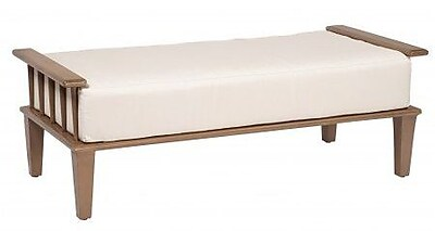Woodard Van Dyke Ottoman and a Half w/ Cushion; Fairmount