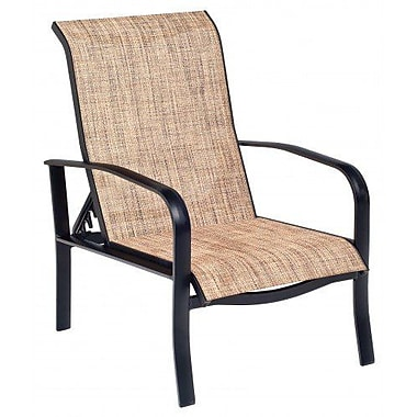 Woodard Fremont Sling Adjustable Patio Chair; Augustine Alloy
